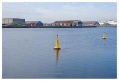 Industrial harbour