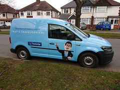 Photo of That's Travelodgical - Travelodge van
