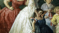 Lily Martin Spencer, The Home of the Red, White, and Blue (detail)