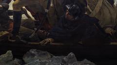 Emanuel Leutze, Washington Crossing the Delaware (detail)