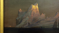 Frederic Edwin Church, The Iceberg (detail)