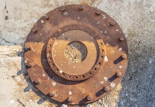 selette cuve 2 pour canon 7,5cm
