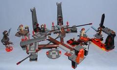 Lego - Mustafar Sets