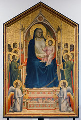 Giotto, Virgin and Child Enthroned