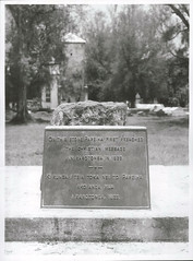 The memorial stone marking the first Christian sermon at Rarotonga