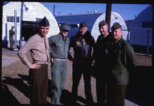 Dick Delaney, Jack Dyer, Terhorst, and Schnappel, 1963