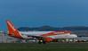 G-EZTD Airbus, Edinburgh