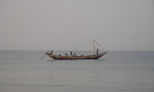 Fishermen going out