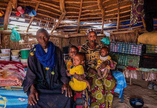 Senegal family portrait