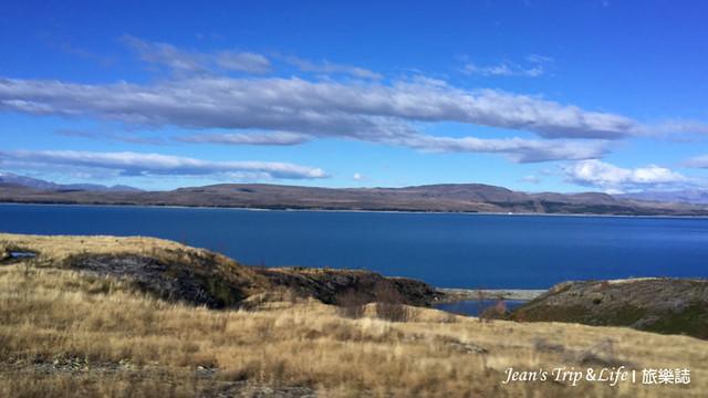 紐西蘭80號公路普卡基湖 New Zealand Lake Pukaki