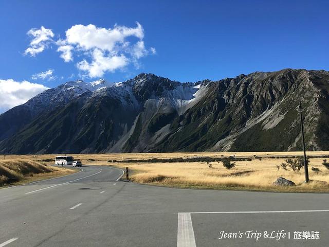 紐西蘭庫克山村非常小