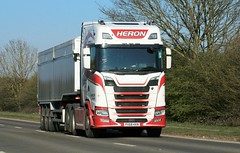 Photo of Heron Bulk Haulage A614 Austerfield 26th March 2020