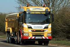Photo of James Cooper & Sons Bulk Haulage A614 Austerfield 26th March 2020