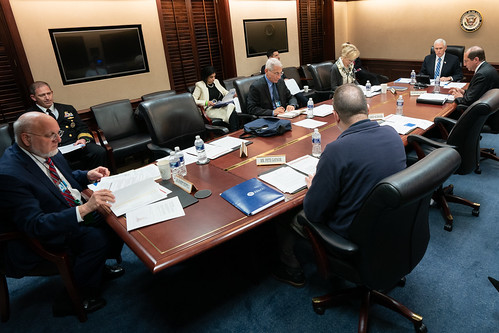 Coronavirus Task Force Meeting by The White House, on Flickr