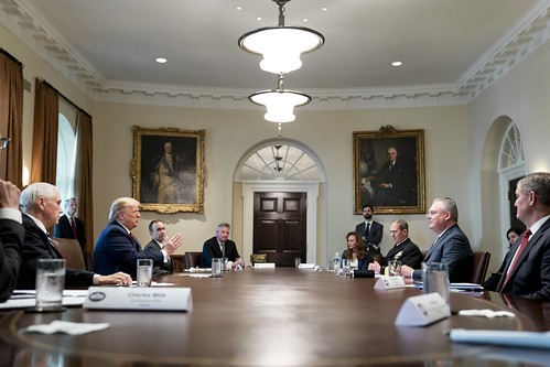 President Trump Meet with Supply Chain D by The White House, on Flickr