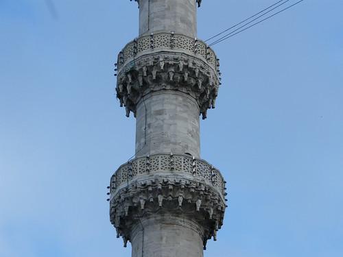 Minaret, Blue Mosque, Istanbul