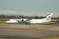 Photo of Flybe Bombardier DHC-8-400  G-JECH - Manchester Airport