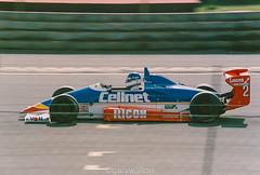 Photo of Paul Warwick - Reynard 893-Toyota