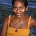 Girl on a bench, Brazil
