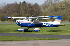 Photo of G-PHOR Reims Cessna FRA150L Aerobat cn 0157 Retford Gamston 22Mar20