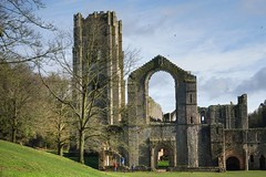 Photo of Fountains Abbey, Western elevation