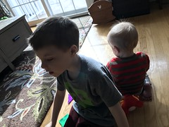 """Paul Plays with Luc and Sam • <a style=""""font-size:0.8em;"""" href=""""http://www.flickr.com/photos/109120354@N07/49720772857/"""" target=""""_blank"""">View on Flickr</a>"""