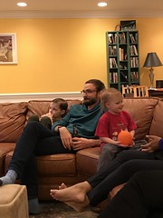"""Paul and Dani Watch the Super Bowl with Paul Rubach • <a style=""""font-size:0.8em;"""" href=""""http://www.flickr.com/photos/109120354@N07/49720790947/"""" target=""""_blank"""">View on Flickr</a>"""