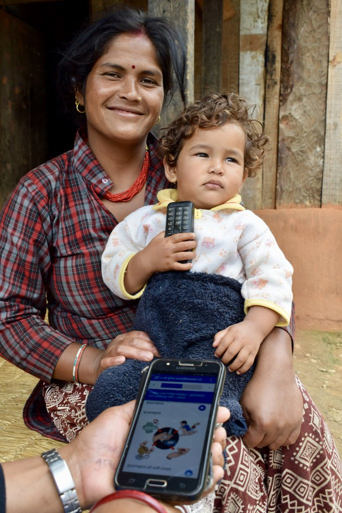 CHW counseling using technology