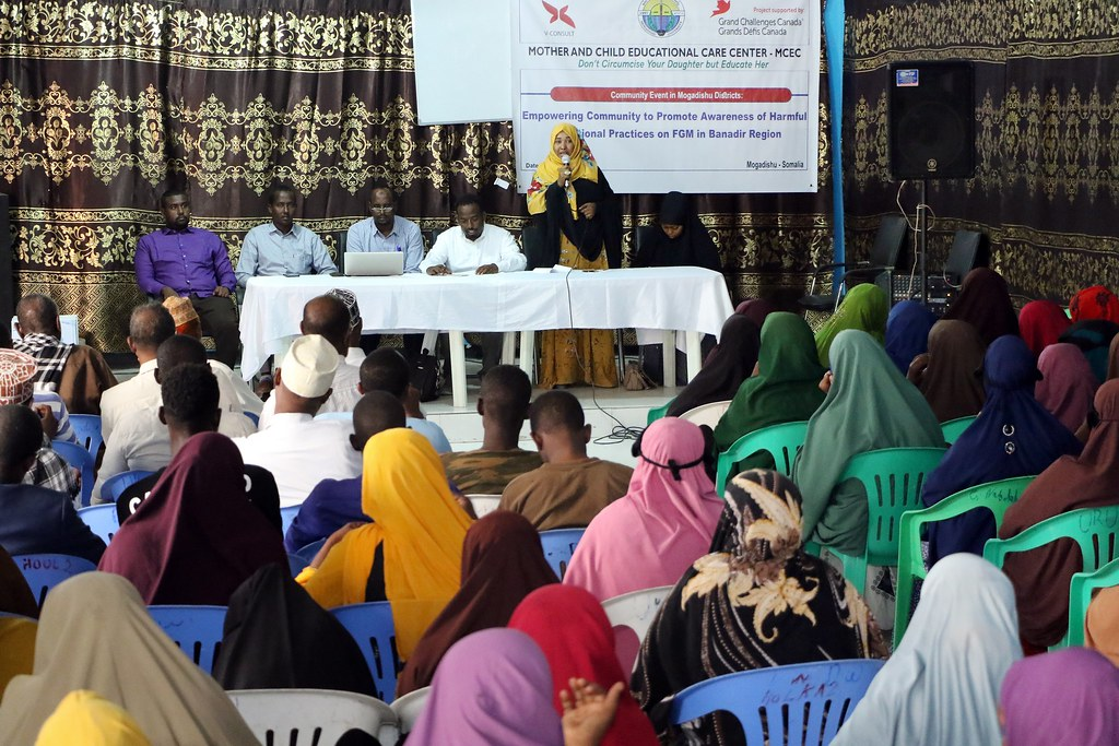 Community visit Banadir District