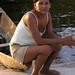 Woman on her canoe, Brazil 2004