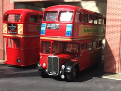 Photo of EFE diecast  ; London Transport  SRT 97 FJJ738 . 1/4/20