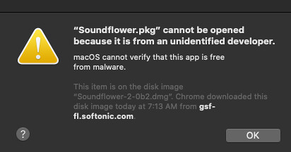 Soundflower Install Error by Wesley Fryer, on Flickr