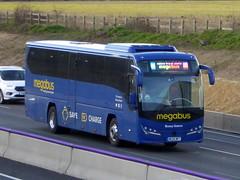 Photo of MP7 / ME69 MPT - Volvo B11R / Plaxton Panther 3 - MP Travel / megabus - M1 at Milton Keynes 08Mar20