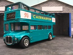 Photo of Corgi diecast 1:64 . CC82307 Routemaster o/t CAERNARFON , [ ? ] Commonwealth Games 2002 . 1/4/20
