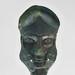 Pair of bronze prometopedion from Ruvo di Puglia, detail