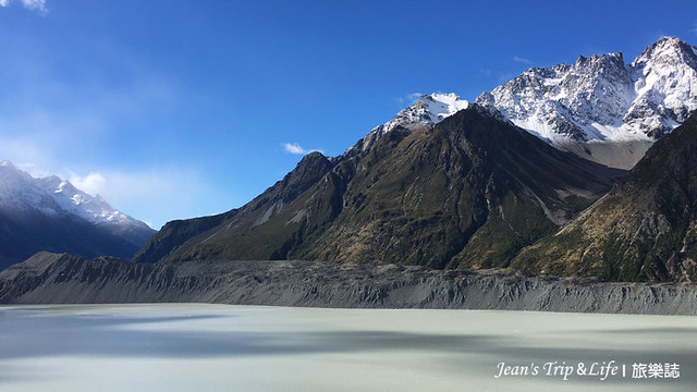 美麗的塔斯曼冰河