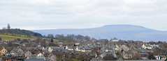 Photo of Cross Fell and Penrith.