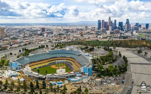 Dodger Stadium Baseball Stadium