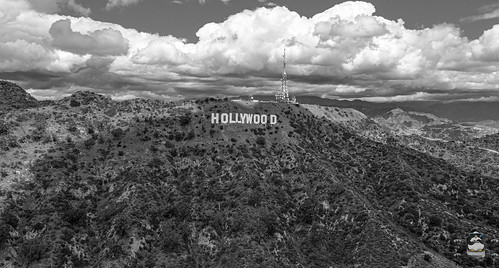 Vintage Hollywood sign