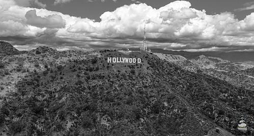 Vintage Hollywood sign