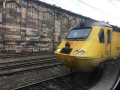 Photo of Network Rail HST Measurement Train Carlisle 02/09/17