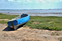 Photo of Beached boat in Lytham