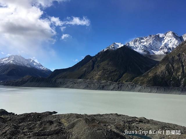 庫克山塔斯曼冰河是紐西蘭最大的冰河