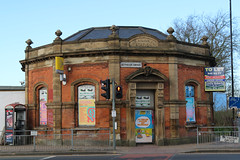 Photo of 29th March 2020. Morning Constitutional. Railway Station, Seymour Grove,  Manchester