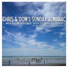 diary #2572: Sunday Almanac: Realtime Spotify Set, April 5th, 2020