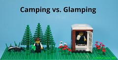 Camping vs. Glamping