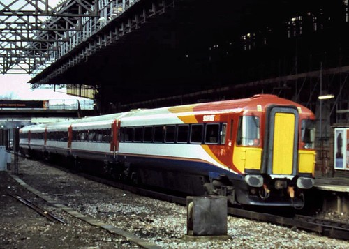 99-074  A South West Trains Class 442 at Bournemouth Station in 1999