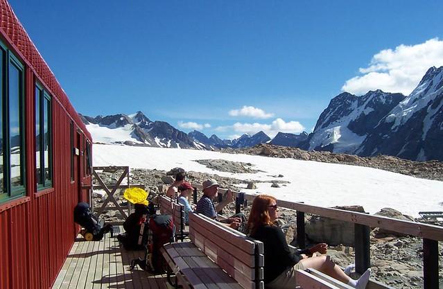 Mueller Hut Track 穆勒山屋步道風景非常壯闊。