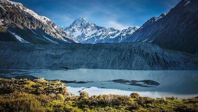 紐西蘭庫克山Kea Point Track 高山鸚鵡角步道