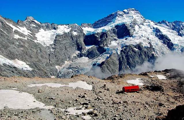 紐西蘭庫克山Mueller Hut Track 穆勒山屋步道